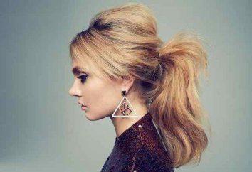 cauda bonito de cabelo médio (foto)