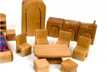 Mobiliário para bonecas ajudar a fazer suas próprias mãos, e papai e mamãe!