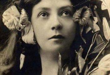 Znana rosyjska aktorka Komissarzhevskaya Vera Fedorovna: biografia, życie osobiste, role teatralne