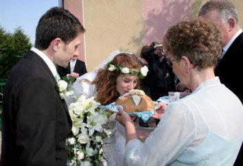 Ah, diese Hochzeit! Wie mit einem Laib frisch Vermählten treffen