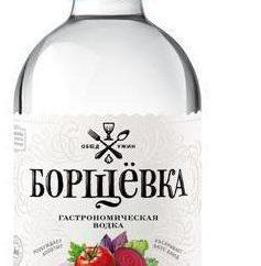 """Vodka """"Barshchouka"""": Sortiment, Zusammensetzung, Bewertungen"""