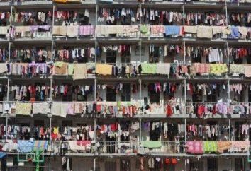 Perchas para la ropa! En el balcón, sólo necesitaban!