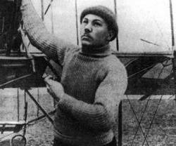 Célèbres pilotes russes. Le premier pilote russe