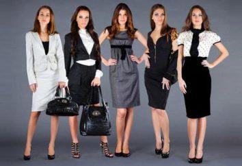 Ufficio vestiti per le donne