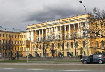 Michajłowski Artylerii Military Academy (MVAA): Adres, wydziały, recenzje