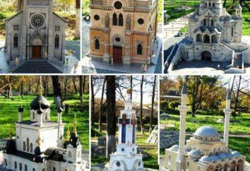 Parque em miniatura em Bakhchisarai: descrição, endereço, preço do bilhete