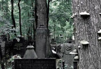 Le vieux cimetière allemand à Moscou