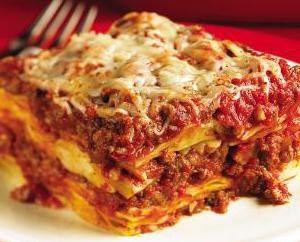 Lazy Lasagne: recepta z chlebem pita, miesza i mielonego kurczaka