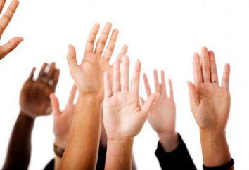 Tremblements, ou se serrant la main Pourquoi