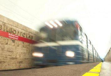 """Metro """"Vyborg"""": storia e oggi"""
