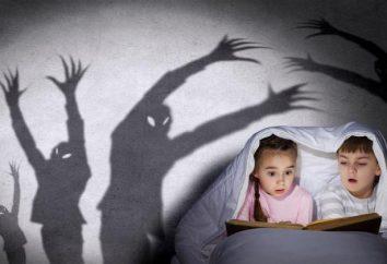 histoires d'horreur drôles de courte durée pour les enfants de 8 ans
