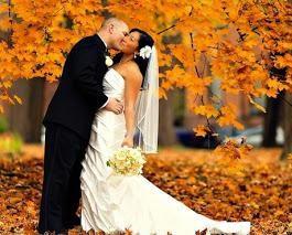 Hochzeit im Oktober: die Zeichen. Zeichen bei der Hochzeit der Braut