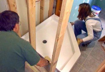 W jaki sposób mogę zainstalować prysznic: cechy procesu
