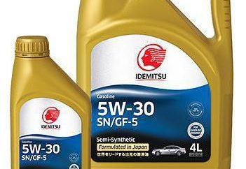 """Olej silnikowy """"Idemitsu 5W30"""": opinie właścicieli"""