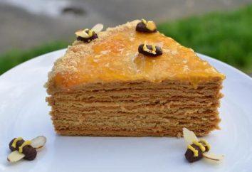 Gâteau « tarte au miel » – une recette classique