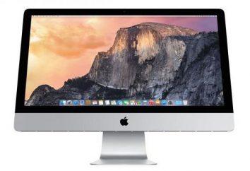 Przegląd monoblok Apple iMac Retina 5K: specyfikacje, opisy i recenzje
