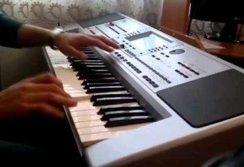 Preocupação Yamaha: um sintetizador como a união de piano e de piano