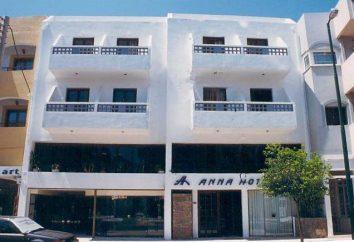 Anna Hotel 2 * (Creta, Grécia): descrição do hotel, descrição e comentários