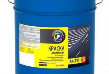 AK-511 – Farbe für Straßenmarkierungen
