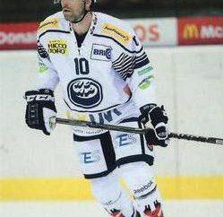 "Giroux Alexander – Canadian extremo hockey sobre hielo, jugó para Riga ""Dinamo"""