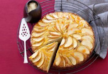 Cómo cocinar el pastel de manzana en casa: dos receta deliciosa