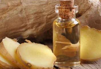 aceite de jengibre: propiedades y comentarios