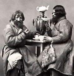 Como na Rússia, houve chá? Que entregou chá na Rússia?