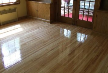 Paznokci podłogi – ochronę powierzchni drewnianych