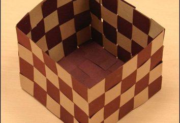 Cómo hacer una cesta de papel? Aprendemos!