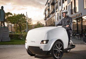 Motocicleta, que se uma van considera: inovação do mercado de automóveis