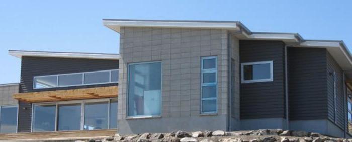 Acabado exterior de la casa de hormigón celular: Opciones consejos