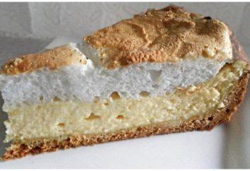 """Pie """"Angel Tears"""" – délicieux dessert gâteau au fromage"""