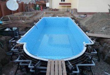 Bau des Beckens: die wichtigsten Punkte