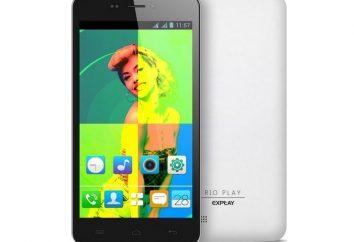 """Smartphone EXPLAY Rio ( """"Rio ou"""") – opinie z właścicieli, cenę, zdjęcie i cechy modelu"""