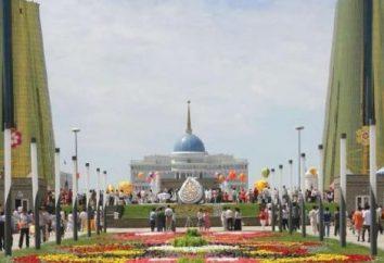 Miasto szybko rośnie na pustyni. Republiki Kazachstanu Astanie kapitału