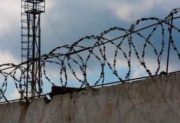 Prisión – es … Historia, tipos, el propósito y la estructura de las instituciones penales en Rusia