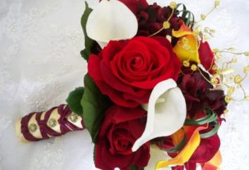 Bukiet ślubny: jesień styl ślub