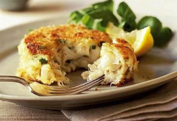 Recette pour la morue gâteaux de poisson – saveur délicate, croquante