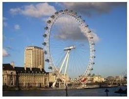 Diabelski młyn w Londynie jako symbol nowego tysiąclecia, a atrakcją tysiącletniego miasta