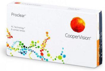 Soczewki kontaktowe Proclear: cechy, korzyści i pielęgnacja