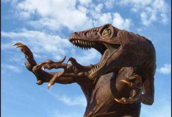 Największy raptor – krwiożerczy dinozaur dromaeosaurid rodzina