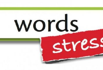 Stres w języku angielskim: charakterystyka, zasady i wytyczne