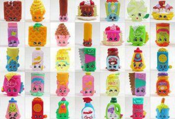 Shopkins brinquedos para crianças: comentários
