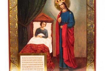 """Icona """"guaritore"""" della Beata Vergine"""