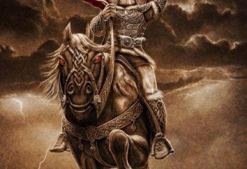 Slavi Gods: Perun. Pagan Dio Perun. simbolo di Perun