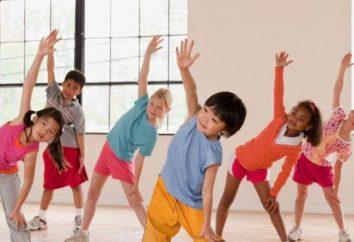 Fizminutka avec les mouvements des enfants. fizminutki musicale pour les enfants avec le mouvement