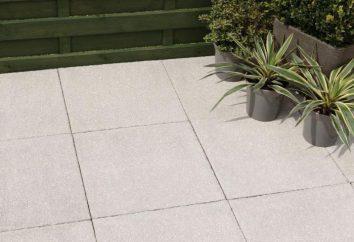 dalles en béton: les principaux avantages et caractéristiques