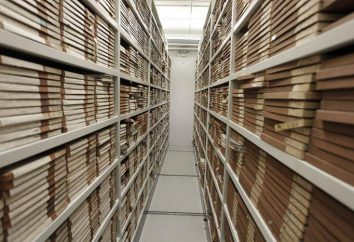 wymogom pokoju archiwum. Podstawowe zasady organizacji Archives