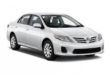 Nowa Corolla w 2013 roku jako przyszłego samochodu