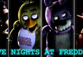 "animatronics historia. Animatronics ( ""Cinco noches con Freddie""): cómo viene? animatronics historia Freddie"